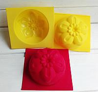 Форма для мыла Цветок 2   7,5 см, 1 шт