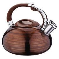 Чайник из нержавеющей стали 2,9 л со свистком АМА A-0682