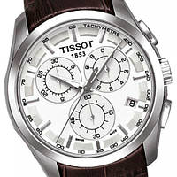 Мужские наручные часы TISSOT Couturier T035.617.16.031.00 Myiota (Japan) стекло сапфир