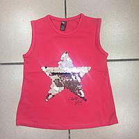 Детская одежда оптом Майка Туника для девочек оптом р.2-9 лет