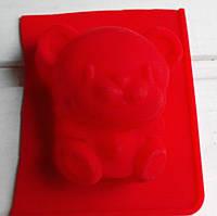 Форма для мыла Медвежонок  7*6,8 см, 1 шт