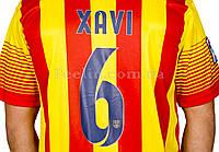 """Футбольная форма ФК Барселона """"XAVI 6"""" 2013-2014 выездная"""
