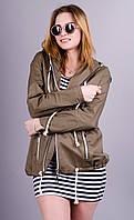 Энджи.Куртка парка женская.Хаки.(Р)., фото 1