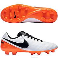 Бутсы футбольные NIKE Tiempo Mystic V Leather FG