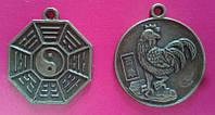 Монета-амулет двенадцати Зодиакальных животных, Петух