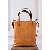 Женская сумка BlankNote Шоппер Краст Жёлтая