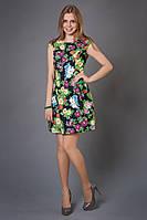 Яркое молодежное платье