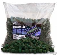 Пеллет Haldorádó прикормочный Halibud 5 кг  Зеленый  палтус 12 - 16 мм