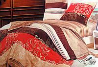 Евро постельное белье Тет-А-Тет В-077 бязь