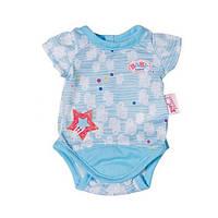 Боди на вешалке для куклы Baby Born Zapf Creation 822074N