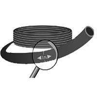 Tрубка ПВХ чёрная капельная Presto-PS  200 м. (3,5*0.7),