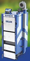 Котел длительного горения БУРЖУЙ DELUX-10 Твердотопливный котел длительного горения с обогрев до до 100 кв. м.