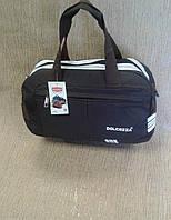 Спортивная сумка коричневая,легкая из плотной ткани фирмы Dolcezza