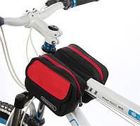 Велосумка на раму с замком ROSWHEEL 12655