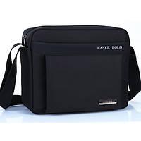 Удобная сумка-портфель через плече POLO. Мужская сумка. Сумка для бумаг. Большая сумка.Удобная сумка.Код: КН15
