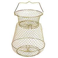 Садок рыбацкий, садок для рыбы металлический 2510
