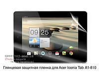 Глянцевая защитная пленка для Acer Iconia Tab A1-810