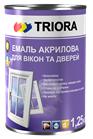 Эмаль Тriora для окон и дверей белая 1,25л