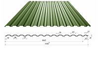 Профнастил в полимерном покрытии С-14, 0,45мм