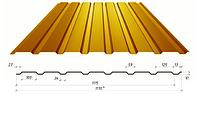 Профнастил в полимерном покрытии С-15, 0,4мм