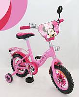 Детский велосипед 2-х колесный 16 дюймов, Minnie