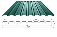 Профнастил в полимерном покрытии С-18, 0,4мм