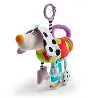 Развивающая игрушка-подвеска - СМЫШЛЕНЫЙ ПЕСИК