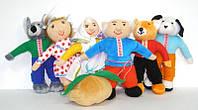 """Театр - топотушки """"РЕПКА"""" (7 персонажей) + Бесплатная доставка укрпочтой по Украине"""