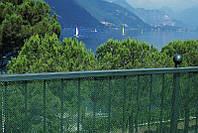 Сетка полимерная для декоративной ограды «Тенакс Ескагон» 1,2х50. Зеленая.