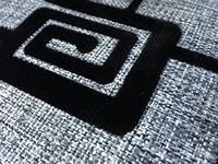 Ткань мебельная Флок на рогожке