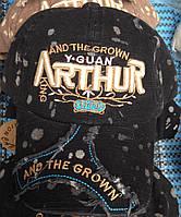 """Бейсболка """"ARTHUR"""" (черный)"""