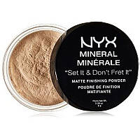 Nyx Mineral Finishing Powder Минеральная рассыпчатая пудра - LIGHTMEDIUM