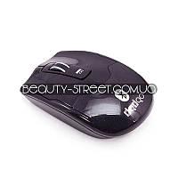 Мышь оптическая беспроводная черная USB, Bluethooth 2хААА
