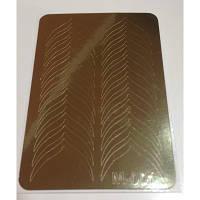 Металлизированные наклейки для ногтей Canni М-001 золото (для фигурного френча)