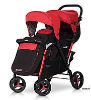 Детская прогулочная коляска для двойни коляска EasyGo Fusion Duo