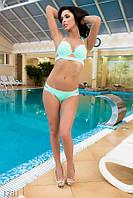 Модный раздельный женский купальник с эффектом пуш-ап и плотными шлейками бифлекс