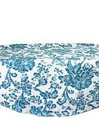 Скатерть на круглый стол Allure blue 140см