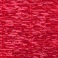 Креп (гофро) бумага 180 гр №586 красный кармин