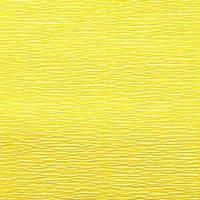 Креп (гофро) бумага 180 гр №575 лимонный желтый