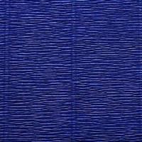 Креп (гофро) бумага 180 гр №555 синий
