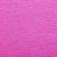 Креп (гофро) бумага 180 гр №551 ярко-розовый