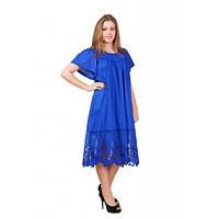 Женский коттоновый летний платье-сарафан 549
