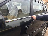 Hyundai Tucson окантовка стекла