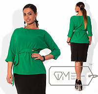 Блузка /зеленый/