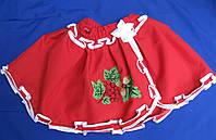 """Детская юбка с вышивкой для девочки """"Олеся"""". Плахта. Юбка для девочек"""