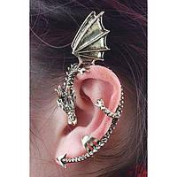 Манжета для уха в виде дракона