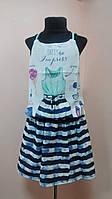 Комплект двойка на девочку нарядный юбка, маечка