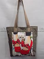 """Женская сумка с принтом (37х35 см.) серии """"Vay"""" LG-1591"""