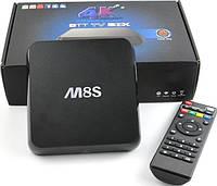 Приставка смарт тв MBOX M8S