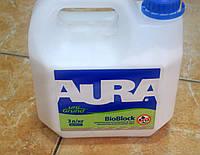 Антиплесневая укрепляющая   грунтовка Bio Block uni Crunt Aura Eskaro  3 л